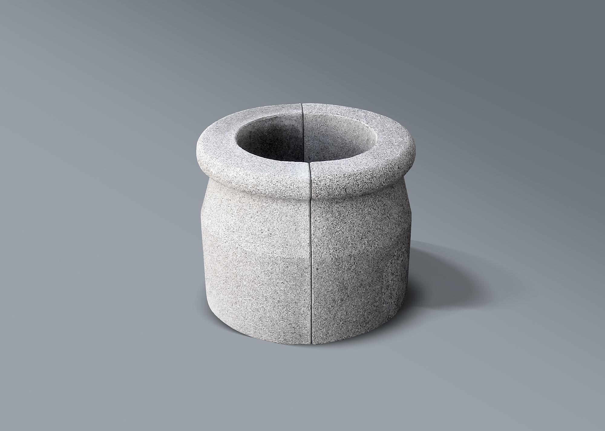 Brocal de pozo en piedra