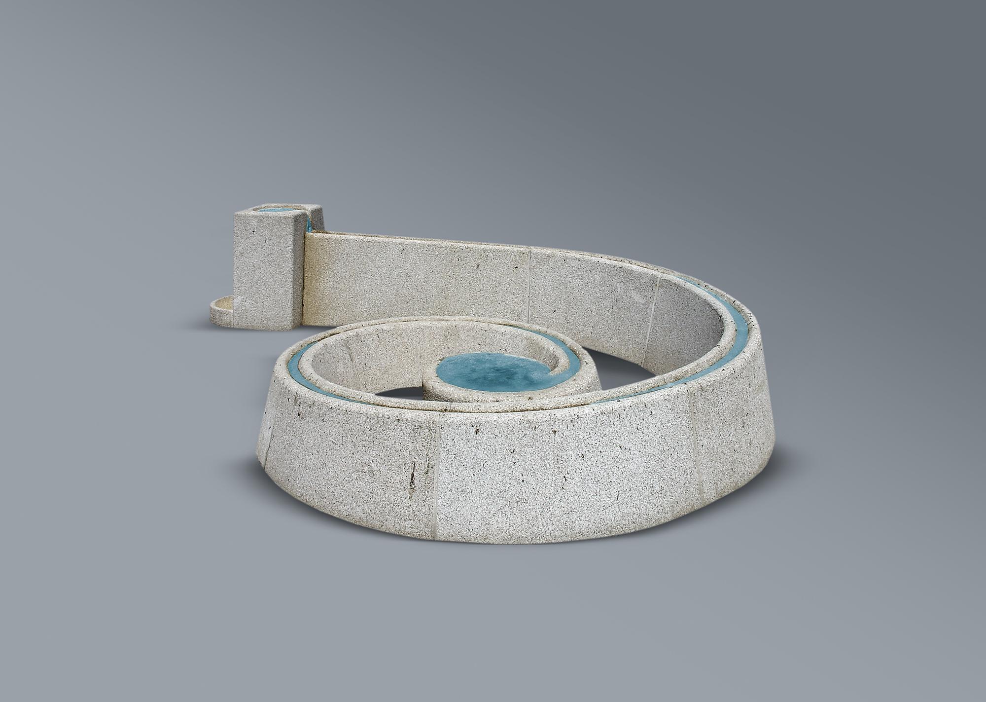 Fuente en espiral