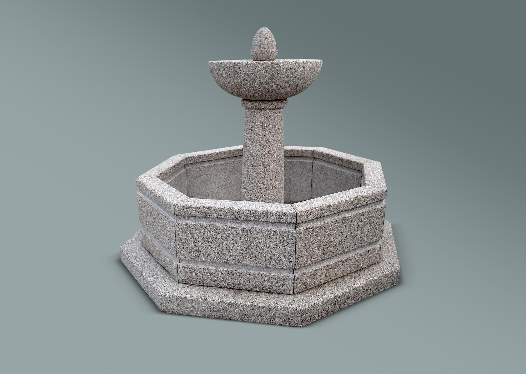 Fuente octogonal