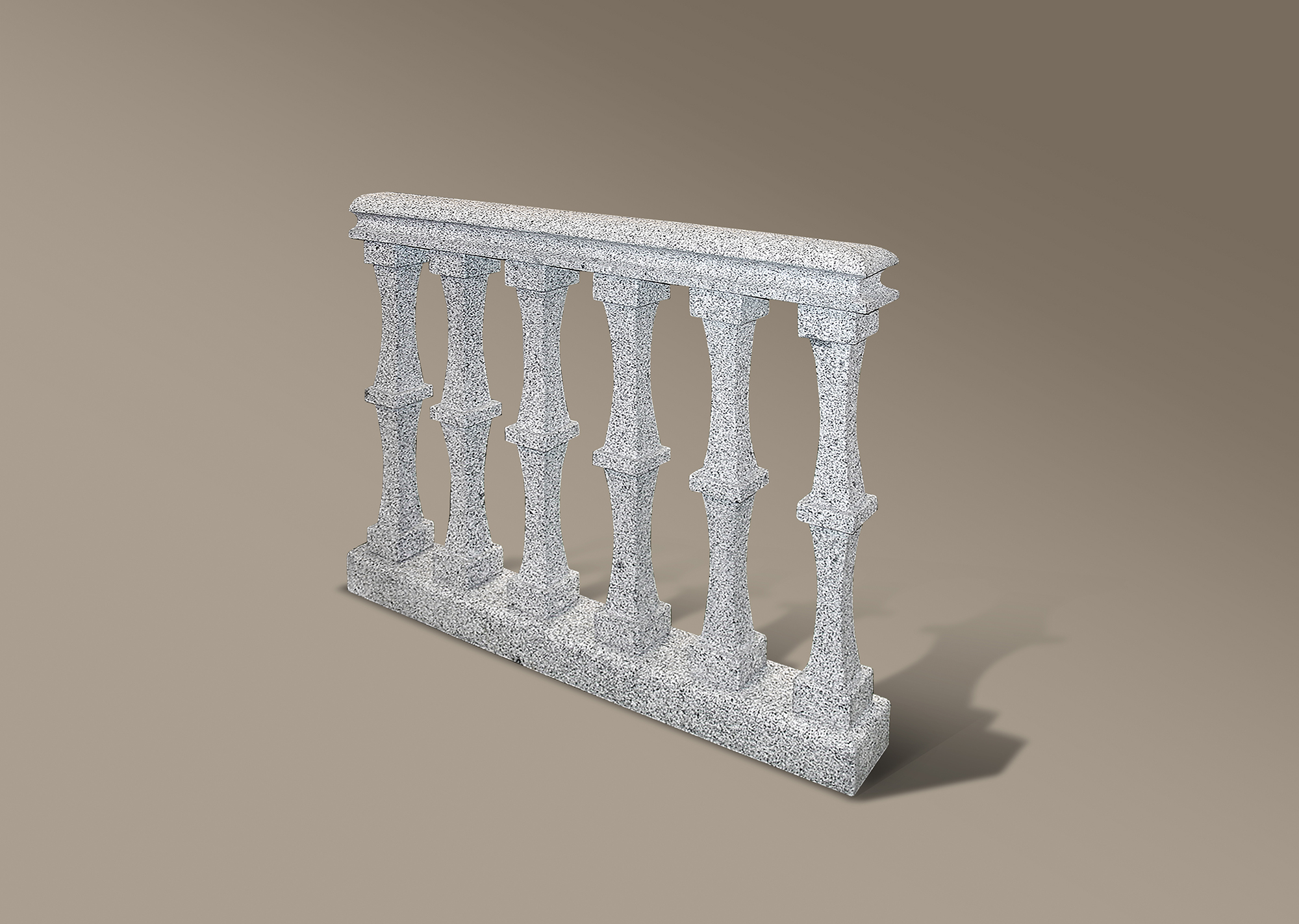 Balaustrada de granito