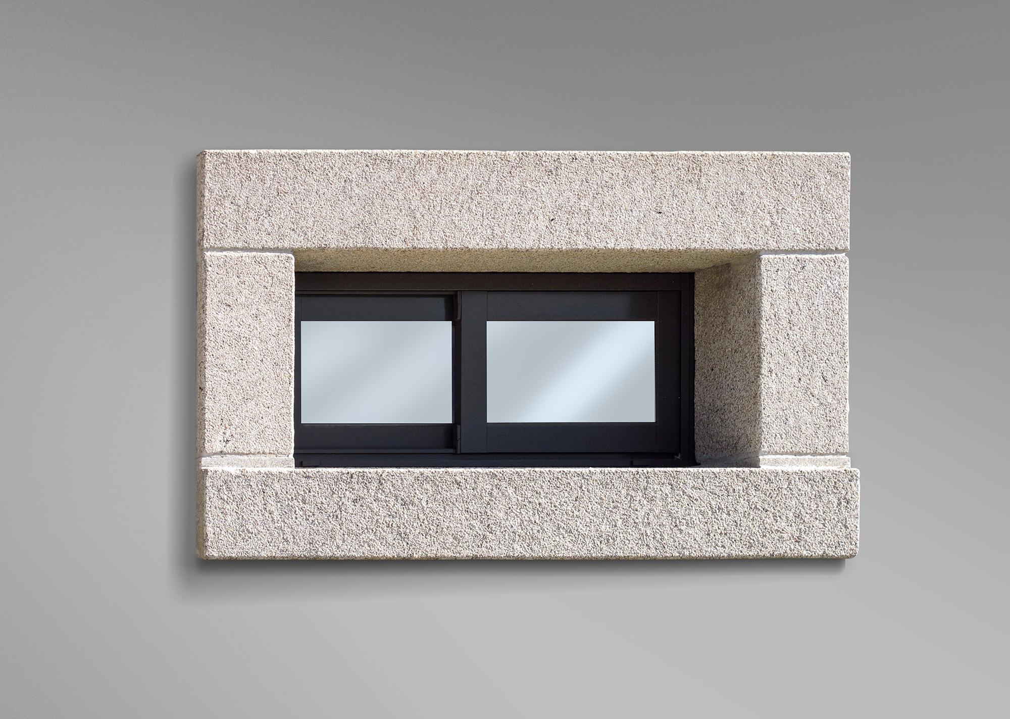 Recercado rectangular de ventana