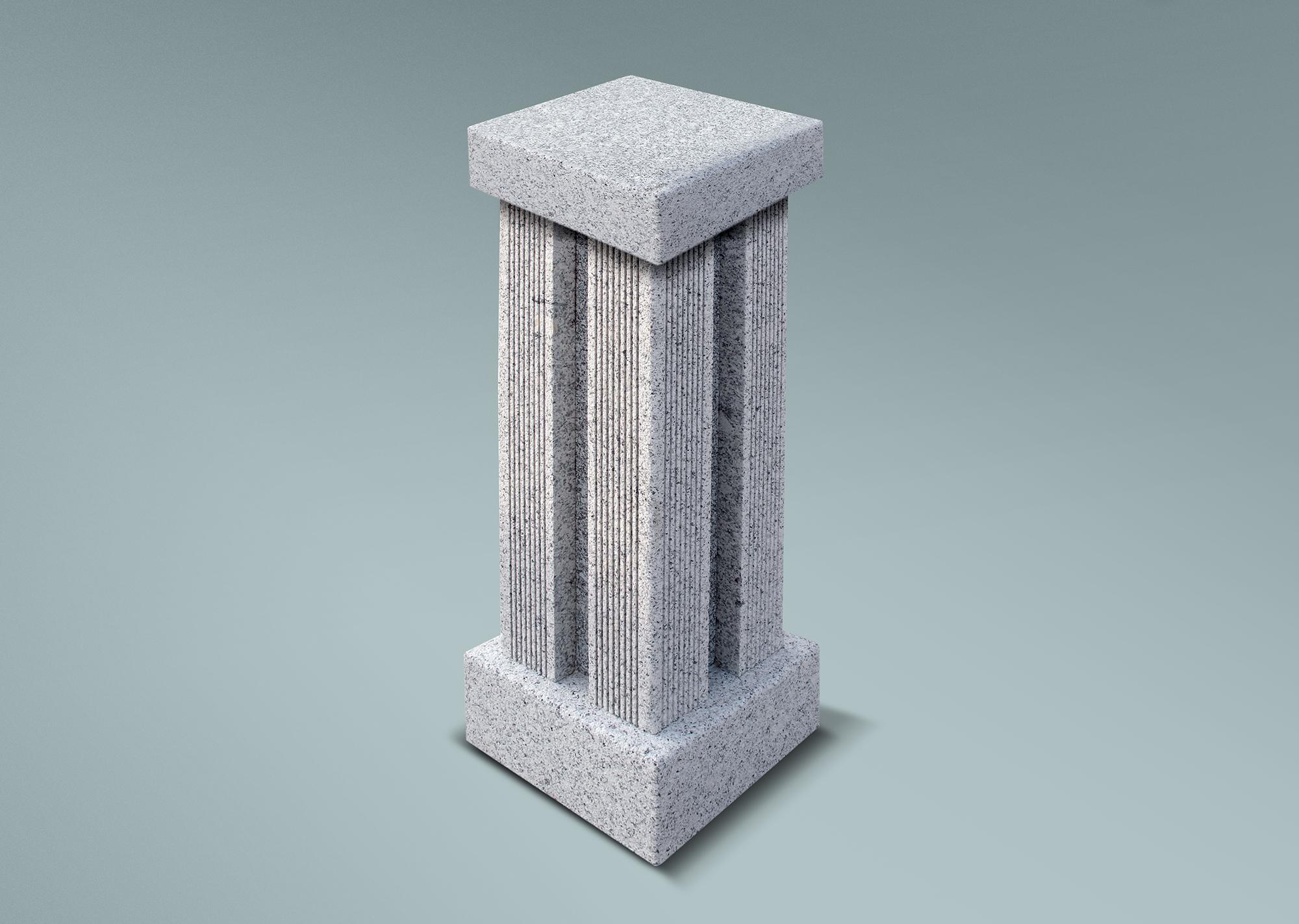 Columna acanalada