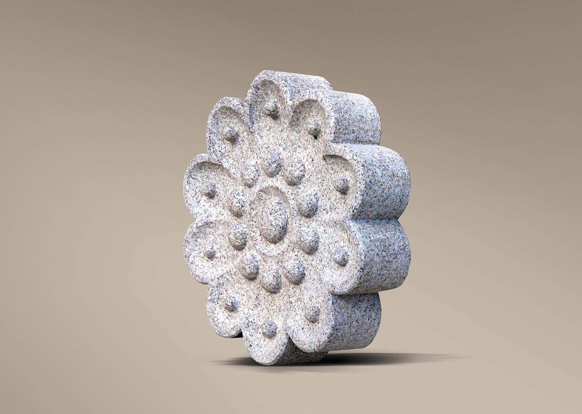 Escultura de botón charro