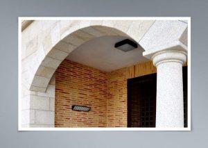 Arco sobre columna