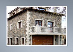Balaustrada en balcón