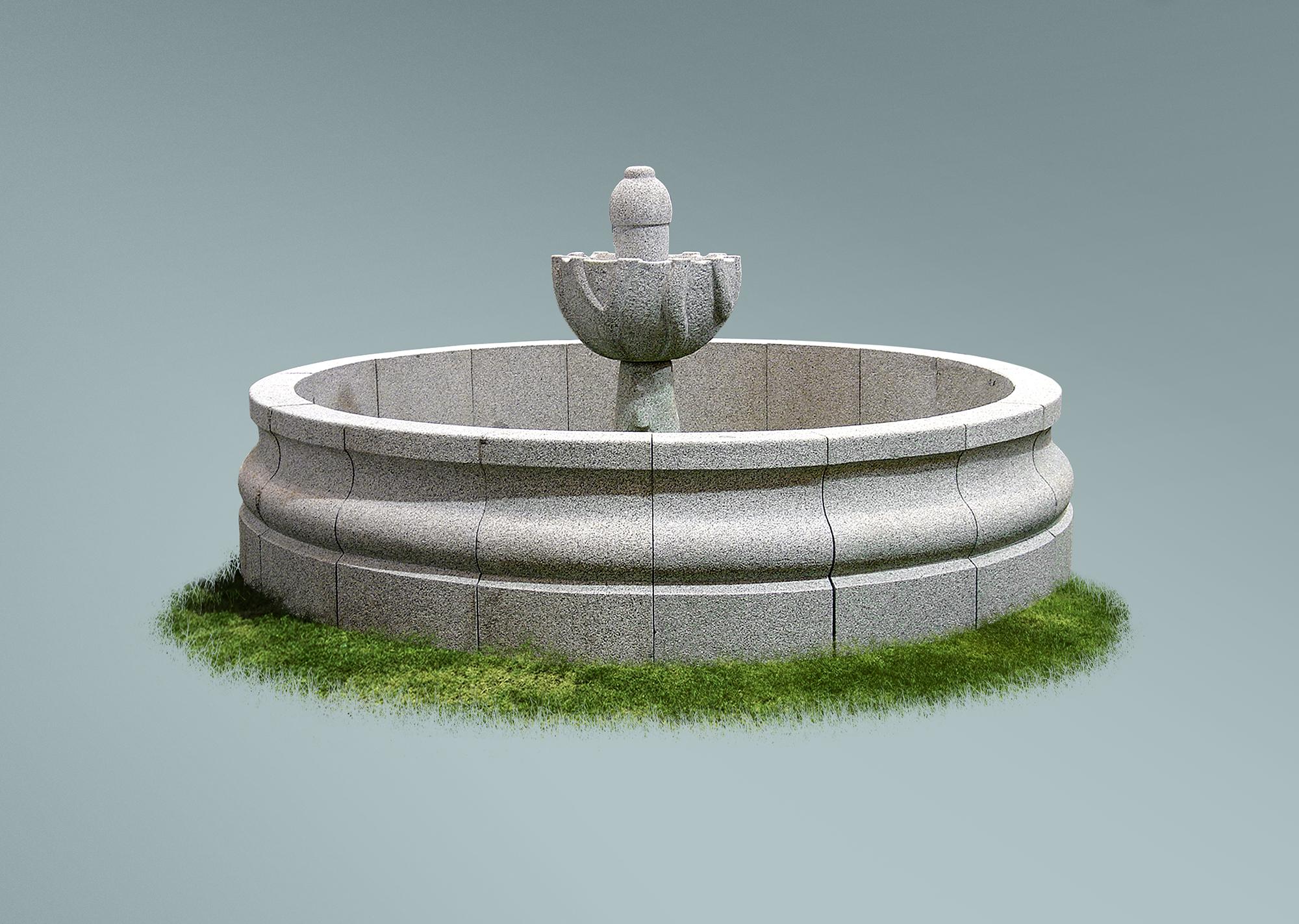 Fuente redonda