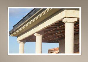 Columnas y cornisas