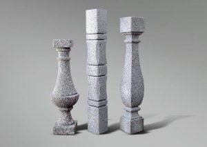 Distintos modelos de balaustres