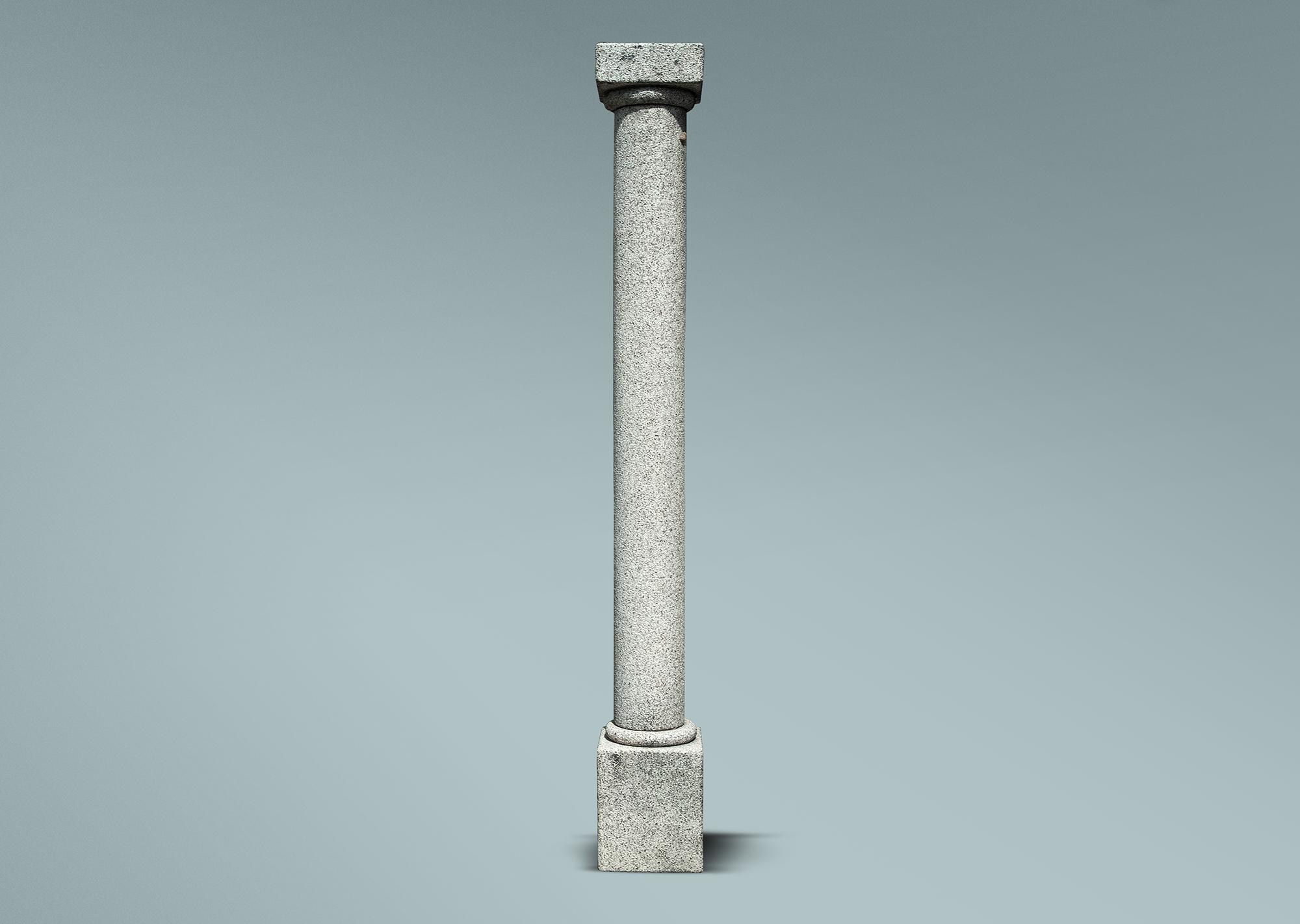 Columna clásica de granito