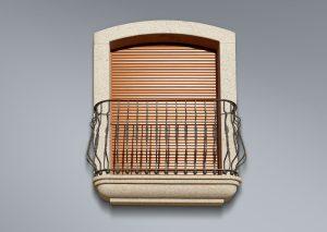 Recercado de balcón