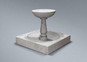 Fuente de granito