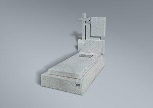 Panteón de granito blanco