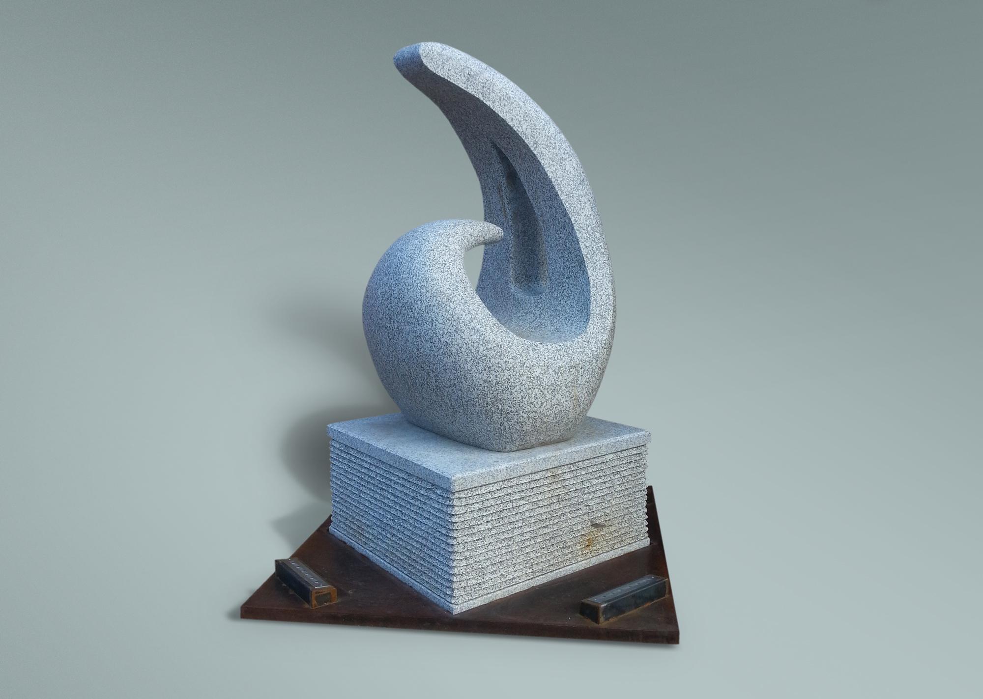 Escultura granito