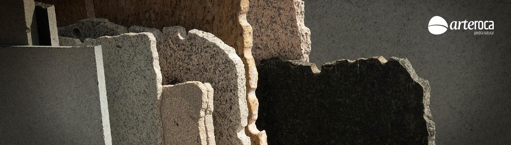 Cortes de granito arteroca