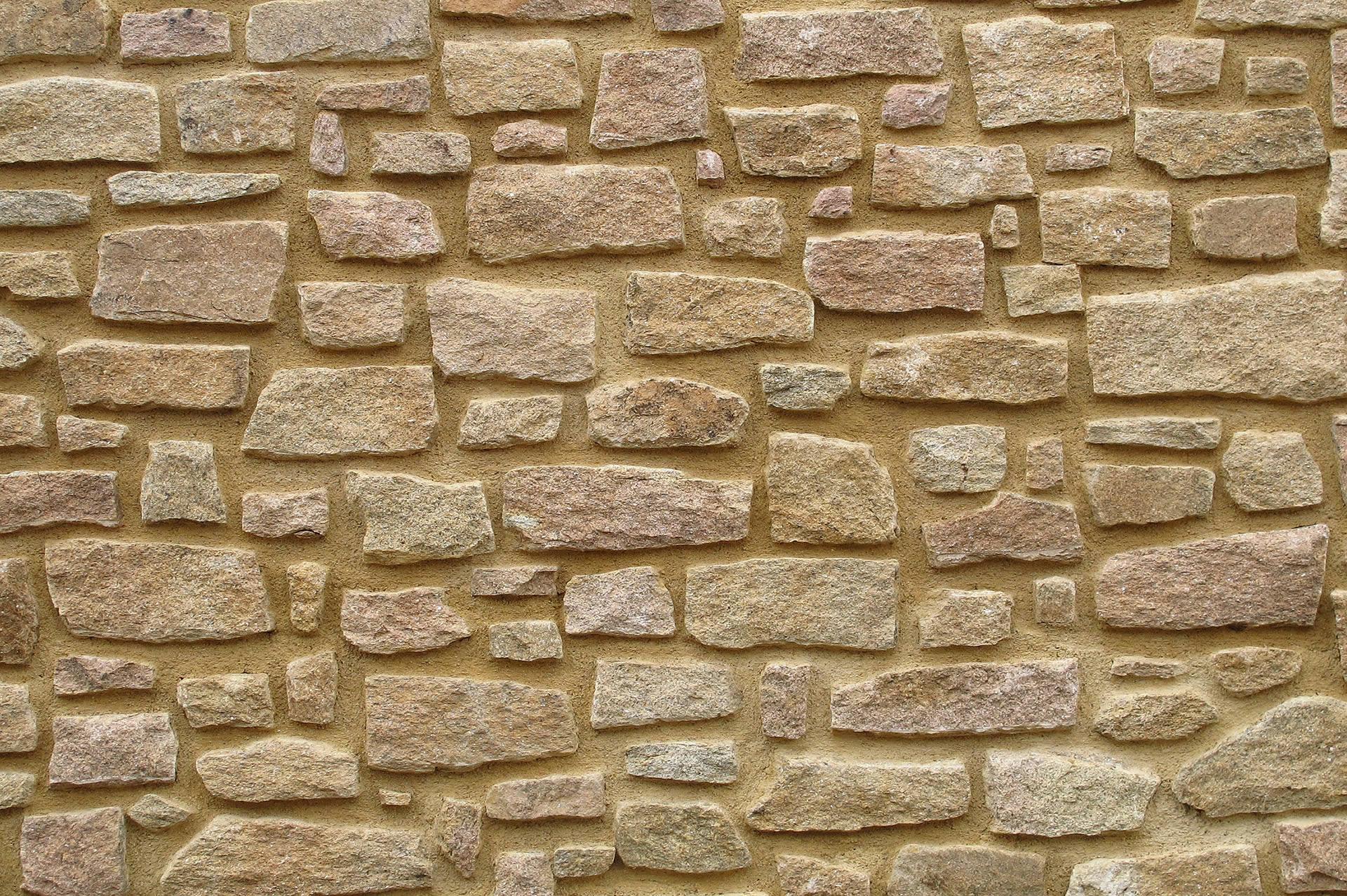 Construcci n de muros y fachadas de piedra arteroca - Muros de piedra ...
