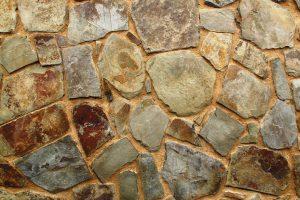 Muro irregular en pizarra